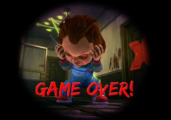 chucked - Chucky Video Game Now Kaput