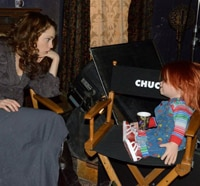 First Behind-the-Scenes Stills from Curse of Chucky; Release Date Confirmed!