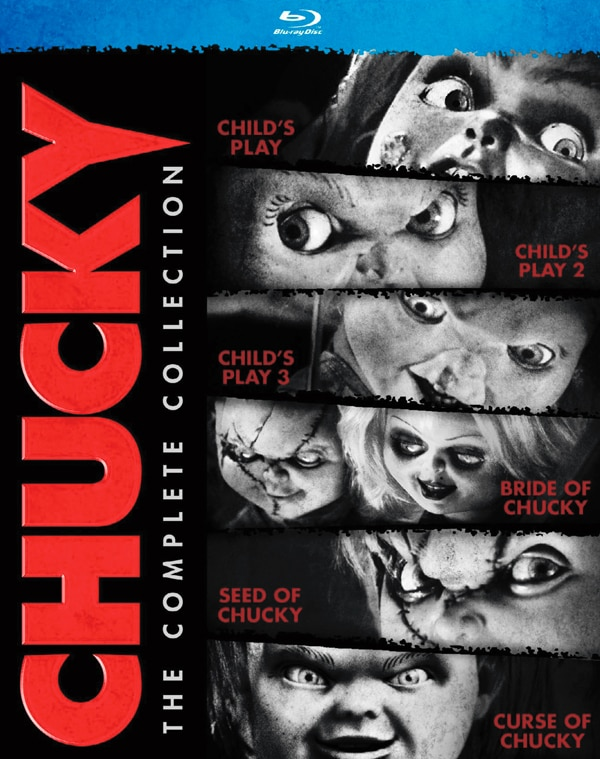 chucky complete collection box art - Two New Clips from Curse of Chucky Found in the Attic