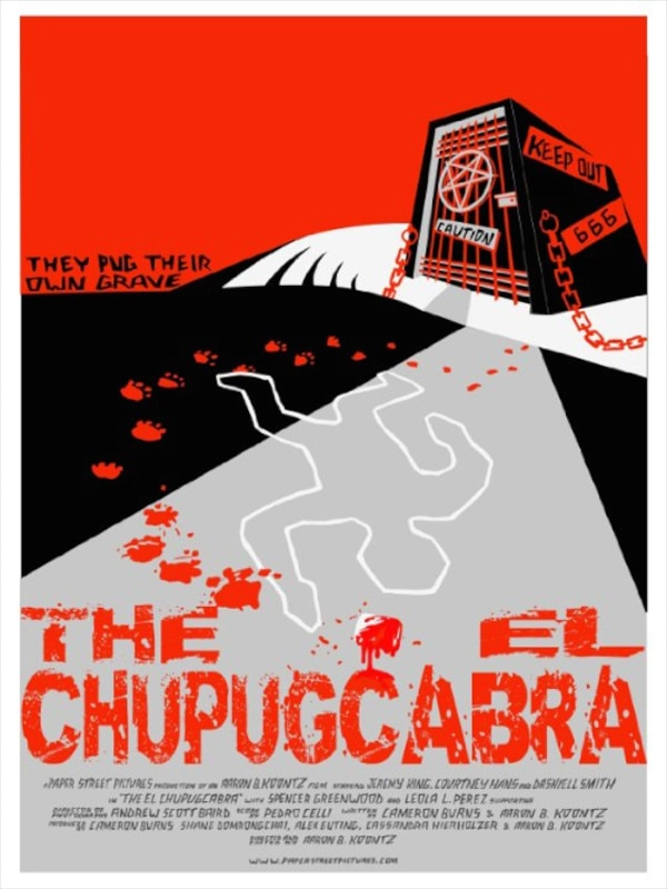 chupugcabra poster - The El Chupugcabra Ready to Take a Bite Out of Your Day