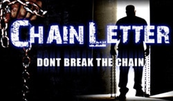 Chain Letter Trailer now Online!