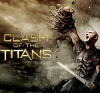 Third Clash of the Titans Film Frozen in Stone