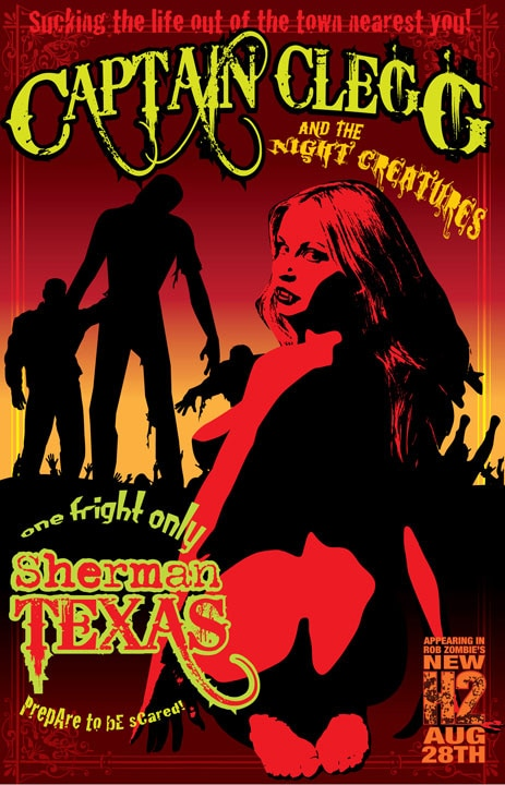 Captain Clegg and The Night Creatures in Rob Zombie's Halloween 2