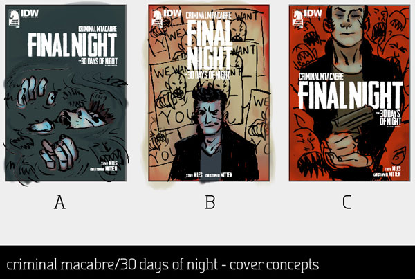 Guest Blog: Anatomy of the Cover of Criminal Macabre: Final Night #3 by Justin Erickson