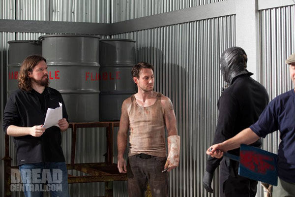 Screamfest L.A. 2012: Exclusive - Dunstan Talks The Collection Premiere; Exclusive Behind-the-Scenes Photos