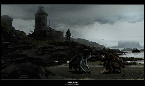 Early Art for David Slade's Cold Skin