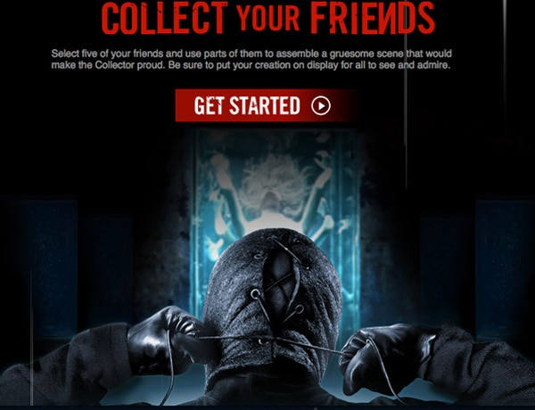 The Collection - New Featurette and Facebook App Get Bloody!