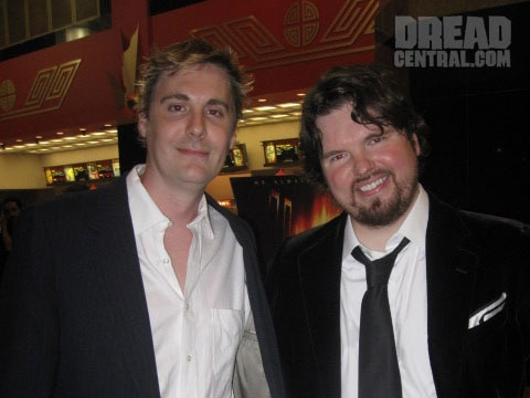 Dread Central at The Collector Premiere (click for larger image)