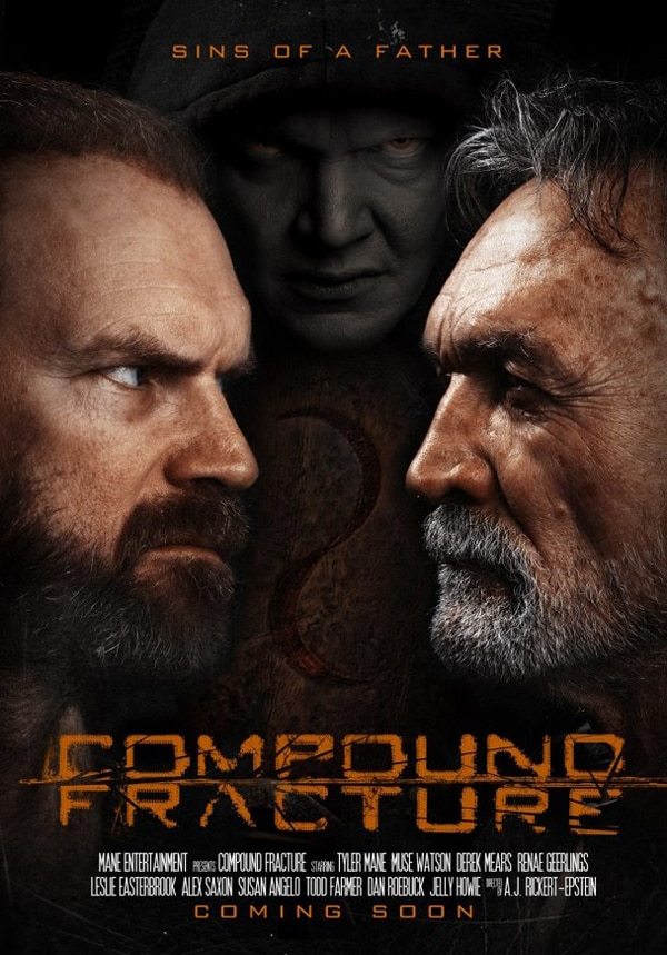 compoundf - Stare Down a New One-Sheet for Compound Fracture