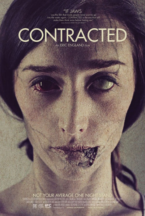 contracted poster - First Look at Eric England's Sick New Film Contracted