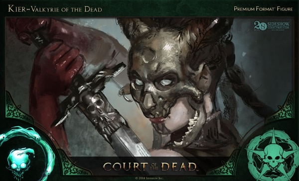 #SDCC14: Get a Sneak Peek of Sideshow's New Court of the Dead Figures in this Concept Art and Making-of Video - Kier – Valkyrie of the Dead