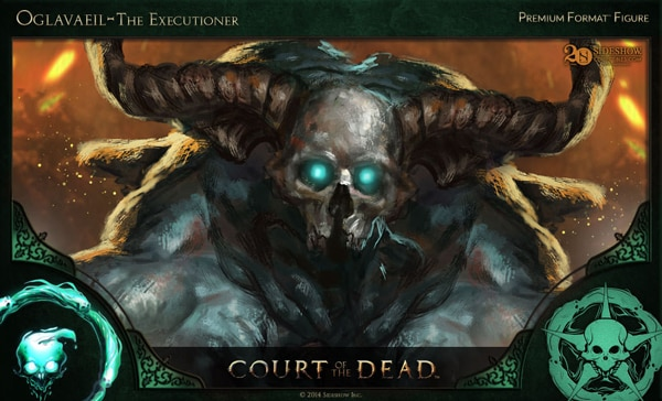 #SDCC14: Get a Sneak Peek of Sideshow's New Court of the Dead Figures in this Concept Art and Making-of Video - Oglavaeil – The Executioner