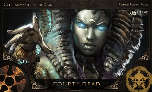 #SDCC14: Get a Sneak Peek of Sideshow's New Court of the Dead Figures in this Concept Art and Making-of Video - Cleopsis – Eater of the Dead