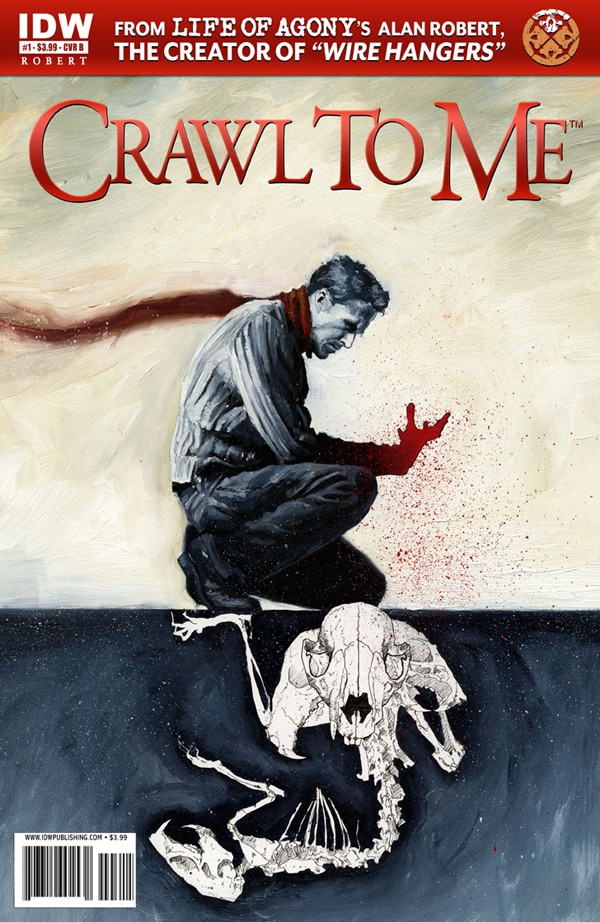 Alan Robert Announces Launch of New Horror Comic Series Crawl to Me