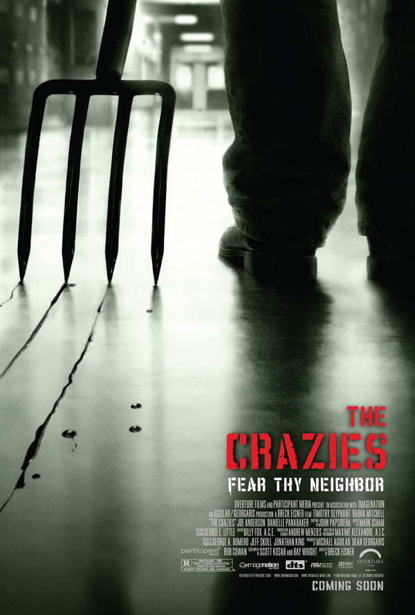 A Forkin' Cool New Crazies One-Sheet