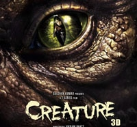 New Poster and Trailer for Vikram Bhatt's Creature 3D