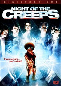 Pick the Night of the Creeps DVD Cover!