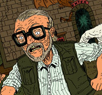 Creepshow Digital Print Featuring George Romero and Stephen King Available TODAY!
