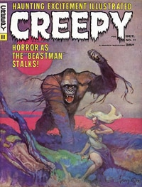 Dark Horse to re-publish Creepy & Eerie