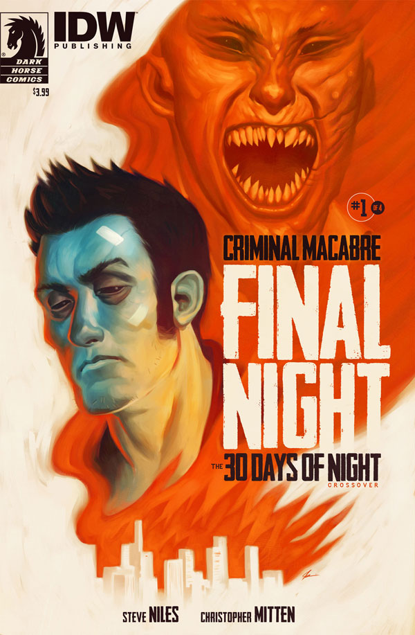 Guest Blog: Anatomy of the Cover of Criminal Macabre: Final Night by Justin Erickson