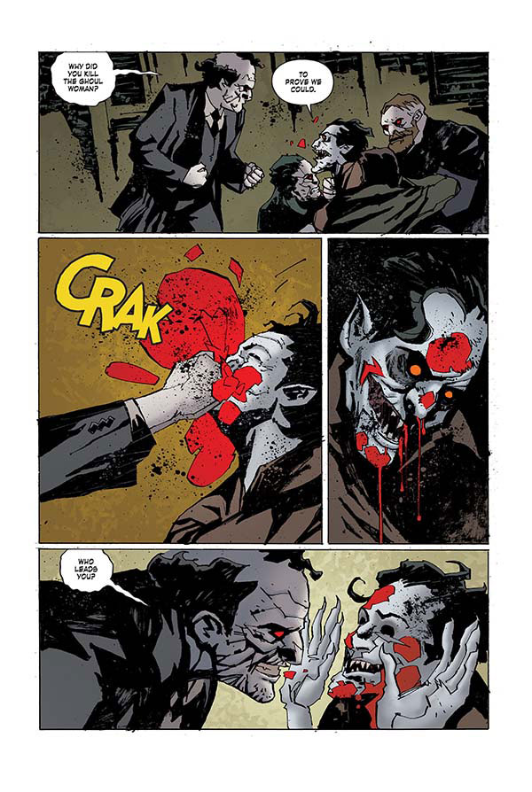 Check Out Three Pages from the IDW/Dark Horse Crossover Criminal Macabre: Final Night - The 30 Days of Night Crossover #1
