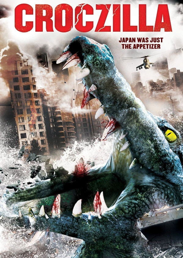 China's Million Dollar Crocodile Redubbed Croczilla for American DVD