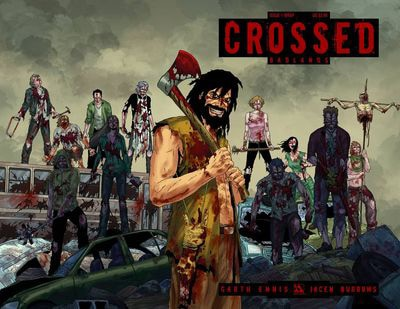 Garth Ennis' Crossed: Badlands Biweekly Comic Series Starts This March