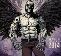 First Details and Teaser Art for The Crow: Pestilence from IDW