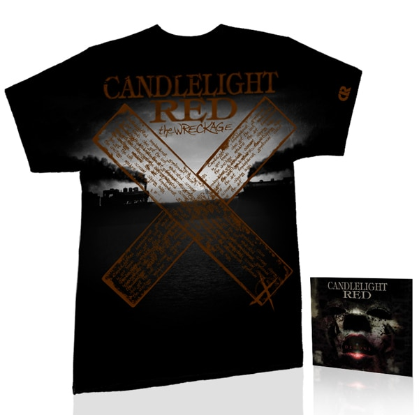 crprize - Video for Candlelight Red's Demons Released Today; Last Chance to Win a Demons EP/T-Shirt Prize Pack