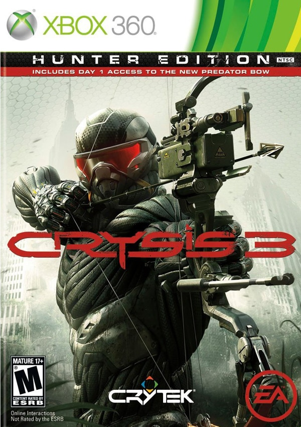cry3 - New Crysis 3 Screenshots and Concept Art Put You Back in the Hunt