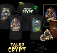 cryptkeeper s - Fright Rags Celebrating the 25th Anniversary of Tales From the Crypt with Fantastic New Designs