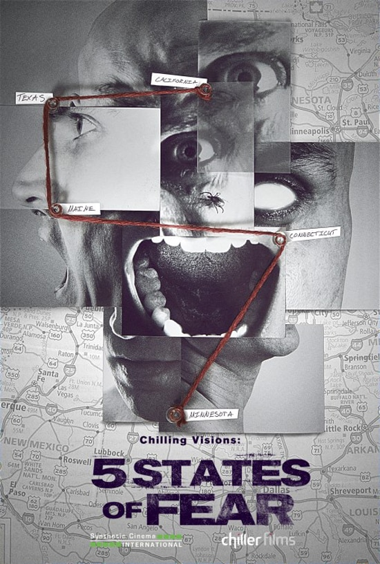 Piece Together this New Artwork for Chilling Visions: 5 States of Fear