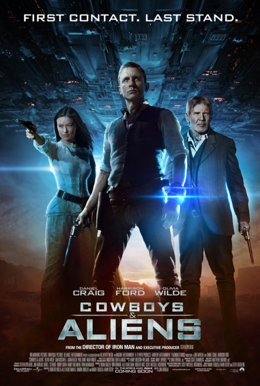 New One-Sheet and Trailer: Cowboys & Aliens
