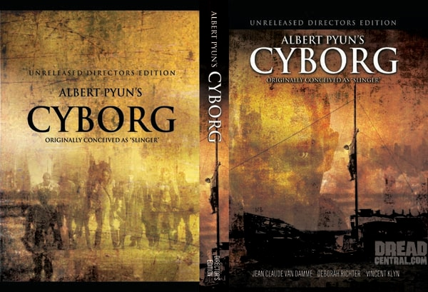 DVD Cover Art for the New Cyborg Director's Cut