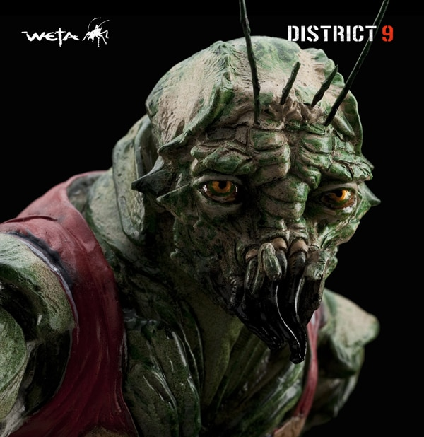 Weta's First District 9 Figure Revealed: Christopher Johnson and Son