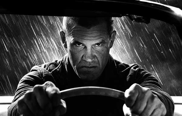 dame2 - Josh Brolin Grabs the Wheel in First BTS Stills from Sin City 2: A Dame to Kill For