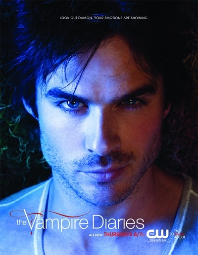 New Promo Poster for The Vampire Diaries - Damon Salvatore!
