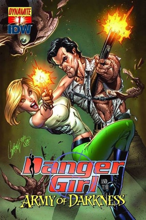 The Danger Girls Team Up With Ash in New Comic Danger Girl and the Army of Darkness