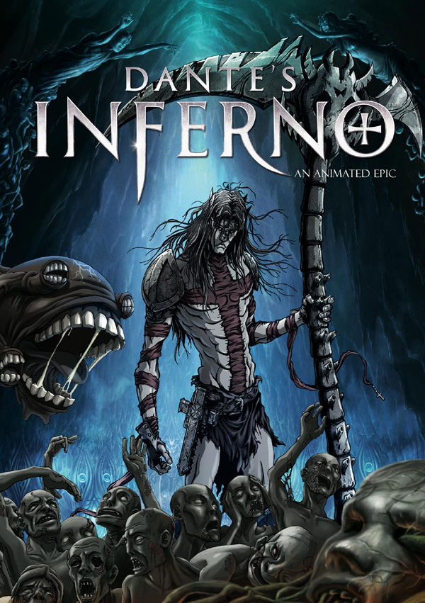 dante3 - DVD and Blu-ray Details: Anchor Bay's Animated Dante's Inferno Feature
