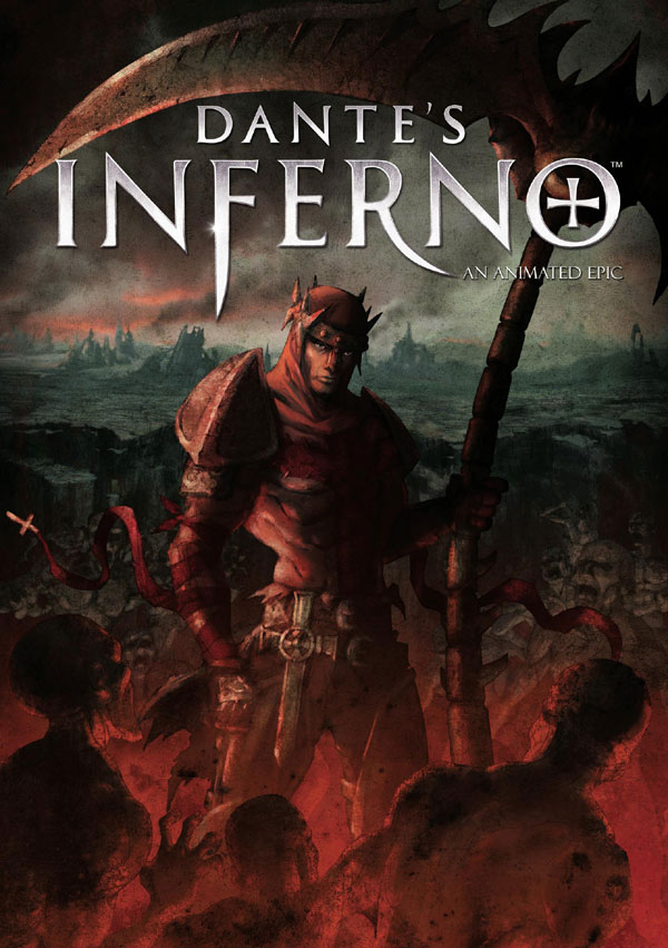 dante4 - DVD and Blu-ray Details: Anchor Bay's Animated Dante's Inferno Feature