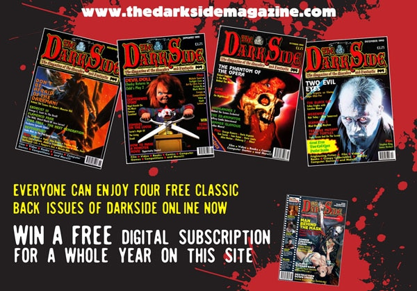 Win a Year's Digital Subscription to The Dark Side Magazine!