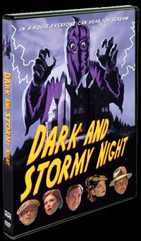 Dark and Stormy Night  on DVD (click for larger image)