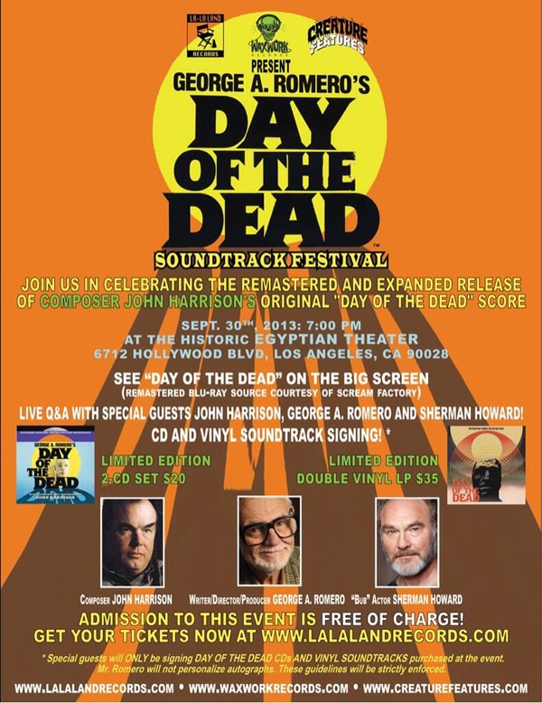 Waxwork Records Celebrates Their Day of the Dead Soundtrack Reissue with a Special Festival!