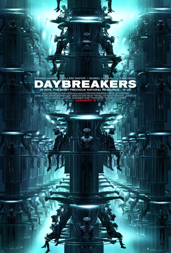 Daybreakers One Sheet Hits the Web