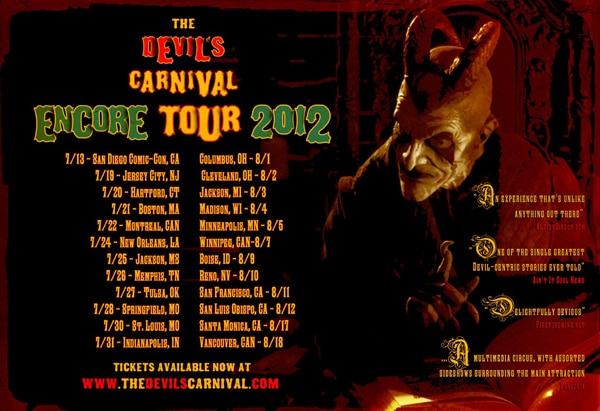 The Devil's Carnival Sets Out for an Encore