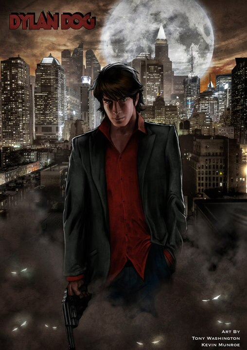 New Dylan Dog Concept Art