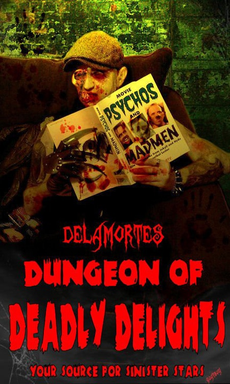Amy Steel Visits Delamorte's Dungeon of Deadly Delights this Saturday!