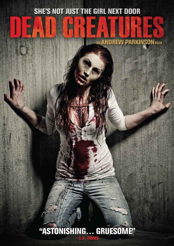 Andrew Parkinson's I, Zombie/Dead Creatures/Venus Drowning Trilogy Getting a North American Release in February