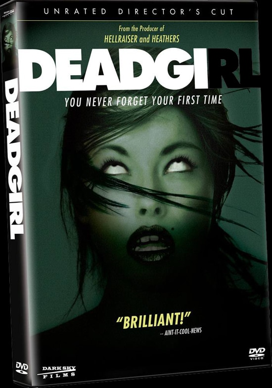 Deadgirl DVD Art and Specs