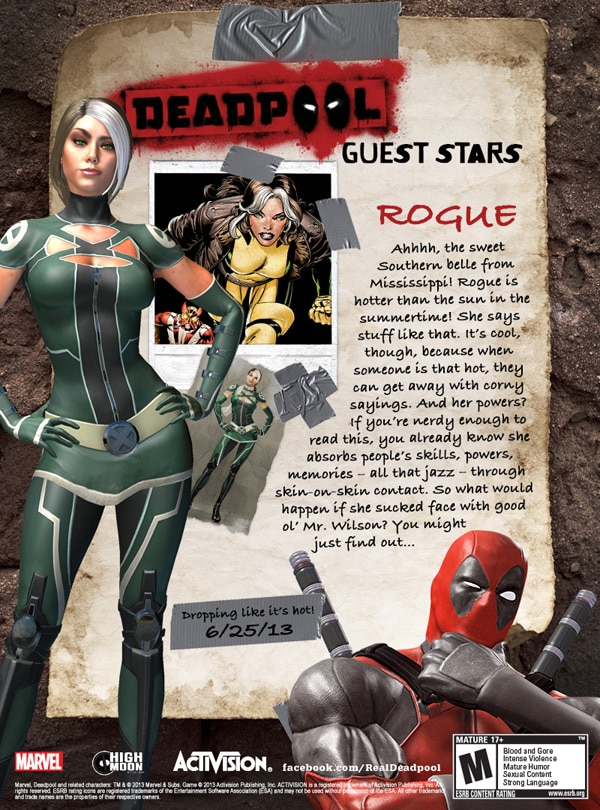 Deadpool Adds Rogue, Psylocke and Domino To The Roster